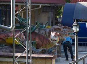 Jurassic Park meets Kok Tobe.