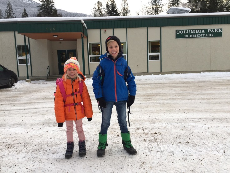 First School Day in Canada