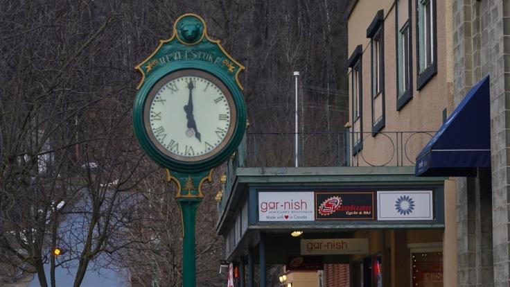Revelstoke Clock