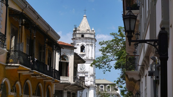 Church Tower in Casco Viejo