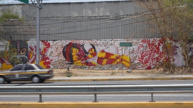 Graffiti just outside of Casco Viejo