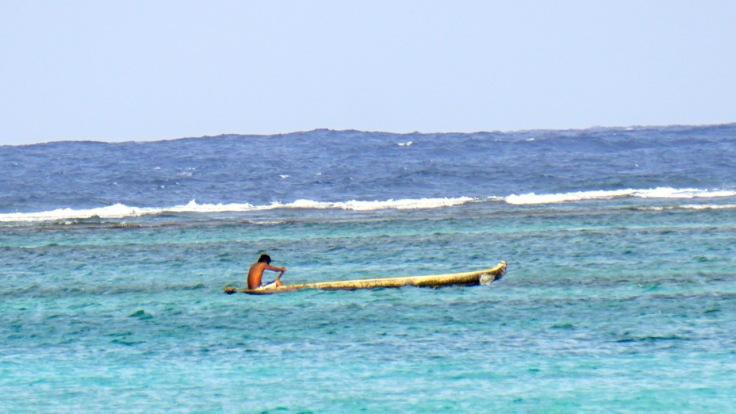 Kuna paddling