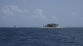 Small island with its little sister.