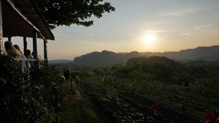 Vinales evening view