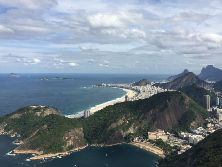 Copacabana from top