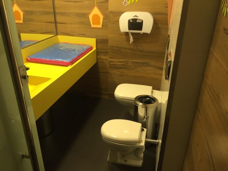 Family facilities in a mall in Rio