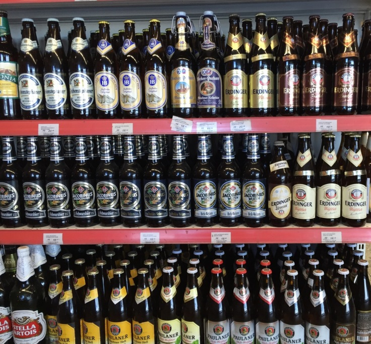 Stunning selection of Bavarian beers in Rio