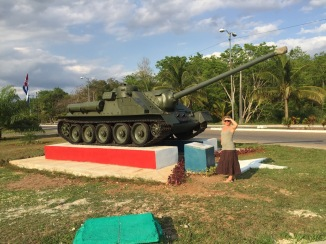 The tank that Castro rolled in on - or at least so they claim.