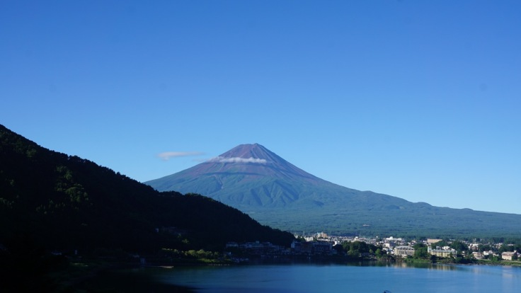 Fuji in late afternoon