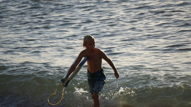 All types of surfing does it for Max