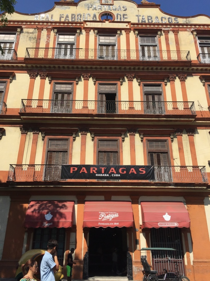 Partagas - the old cigar factory