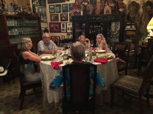 The birthday table. Barrack Obama sat there just a few weeks earlier.