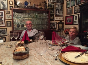 Spanning generations at this quirky, but lovely restaurant.