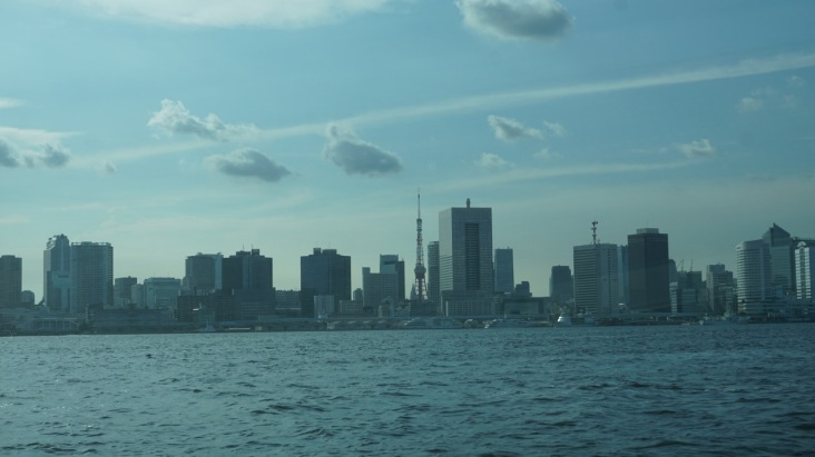 Tokyo's stunning skyline with Tokyo Tower dwarfed by modern offices and hotels